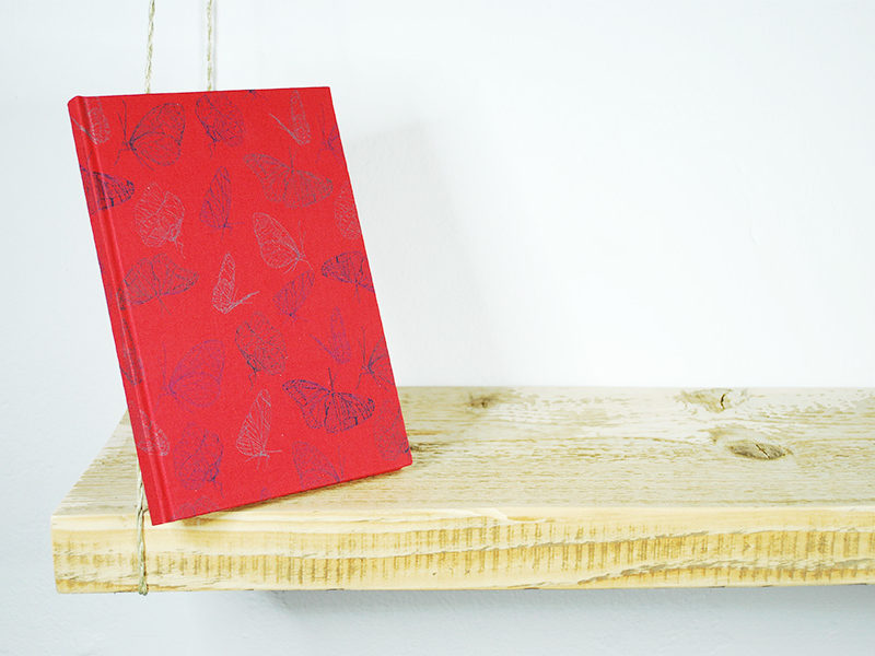 rotes_Notizbuch_Butterfly_Red_A5