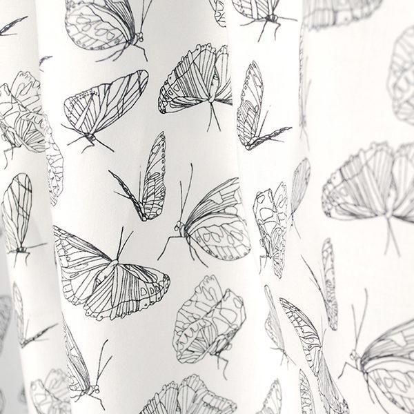 bedruckte_Stoffe_meterware_butterfly_white